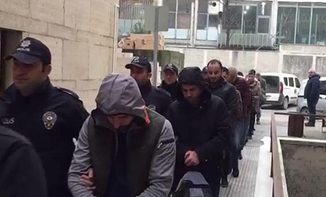 Çok sayıda asker tutuklandı