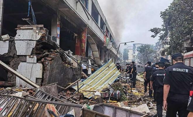 Çin'deki doğal gaz patlamasında ölü sayısı 25'e yükseldi