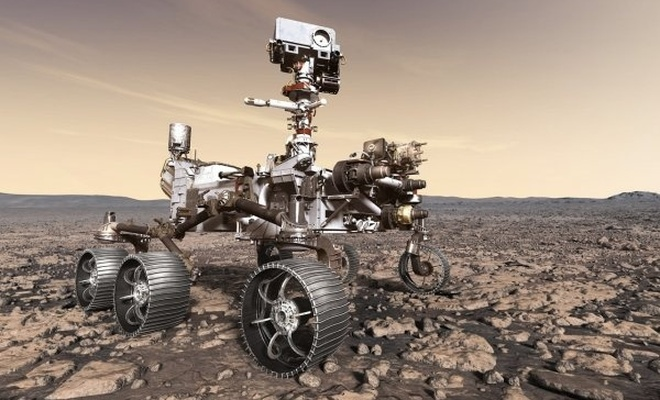 NASA'nın Mars'a göndereceği araç, sürüş testini tamamladı