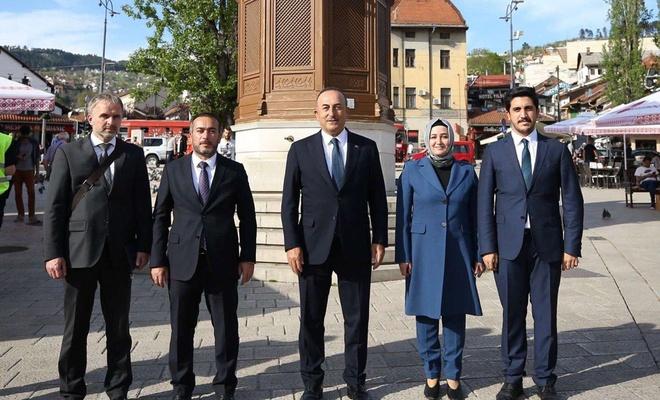 AK Parti Diyarbakır İl Başkanı Aydın Bosna Hersek'te