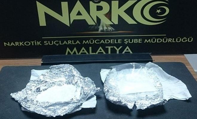 Malatya'da uyuşturucudan 2 kişi tutuklandı