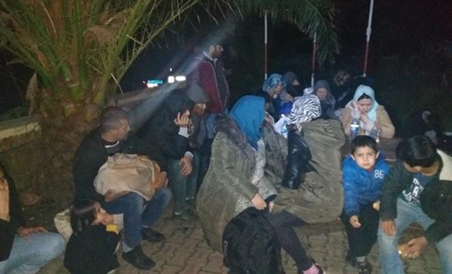 Çanakkale'de 166 göçmen yakalandı