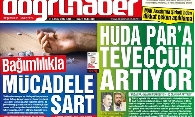 HÜDA PAR`A TEVECCÜH ARTIYOR