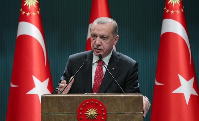 """Cumhurbaşkanı Erdoğan: """"Lanetlenmiş sapkınlıkları normalleştirmenin peşindeler"""""""