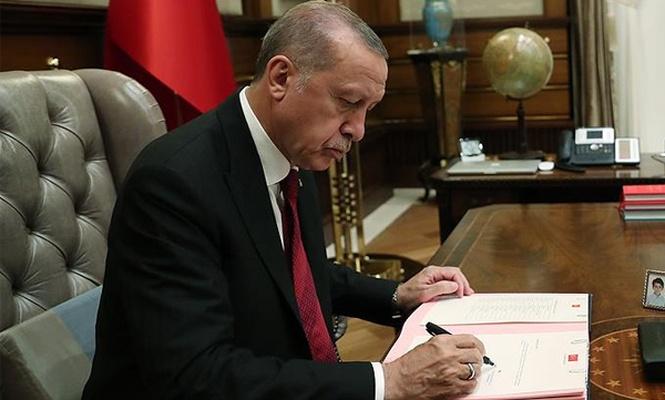 Erdoğan`dan Danıştay üyeliklerine atama