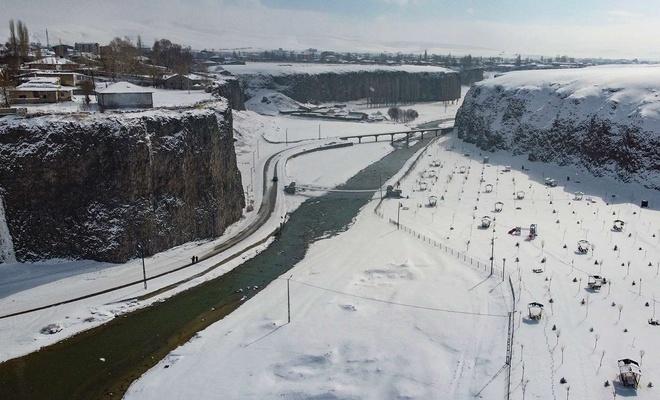 Diyadin Kanyonu Nitelikli Doğal Sit Alanı listesine eklendi