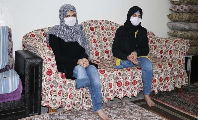 Suriyeli kız kardeşlerin tek isteği protez bacak
