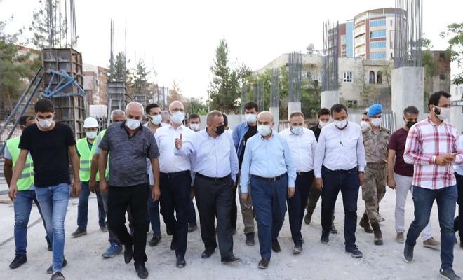Mardin Valisi Demirtaş'tan ilçelerde yapılan çalışmaları yerinde inceledi