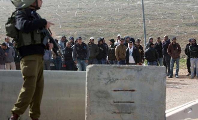 """Corona nedeniyle işgal topraklarındaki Filistinli işçilere """"eve dön"""" çağrısı"""