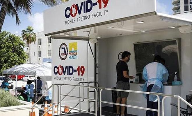 ABD'de koronavirüsten can kaybı 203 bine yaklaştı