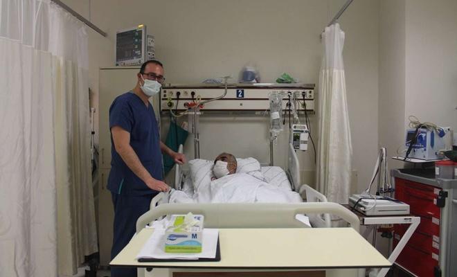 Siirt'te ilk kez 82 yaşındaki hastaya kalıcı kalp pili takıldı