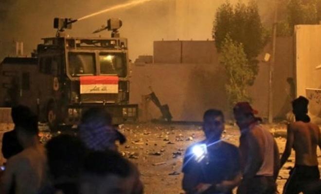 Irak'ta güvenlik güçleriyle protestocular arasında çatışma çıktı!