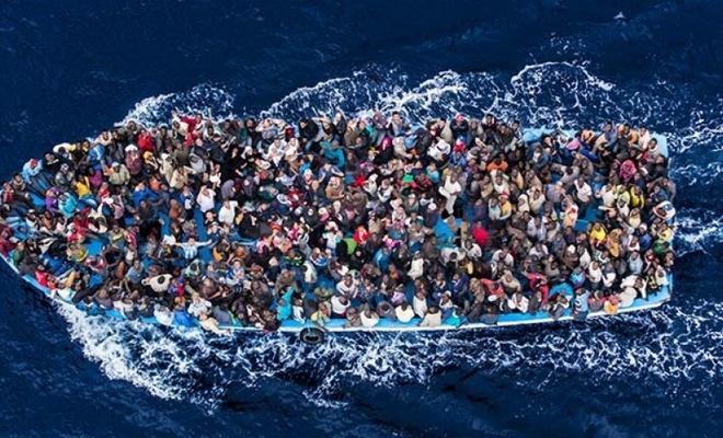Akdeniz'de göçmen mezarlığı!