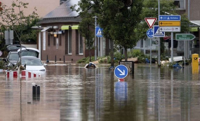 Almanya'daki selde 174 can kaybı