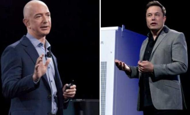 Jeff Bezos ve Elon Musk, NASA yüzünden karşı karşıya geldi