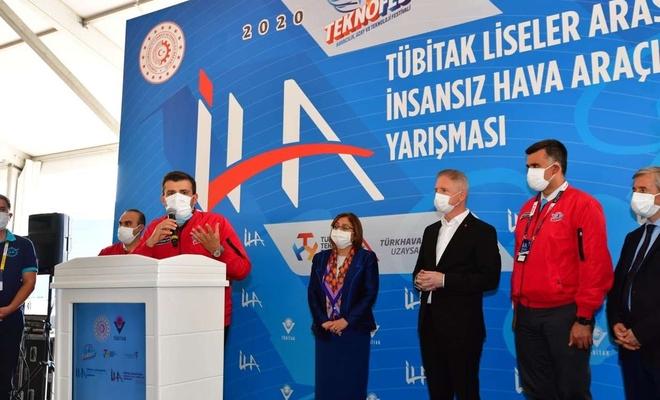 Gaziantep'te İHA yarışması düzenlendi