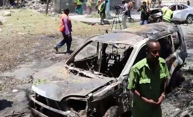 At least 20 killed, 30 injured by car bomb attack in Somalia capital