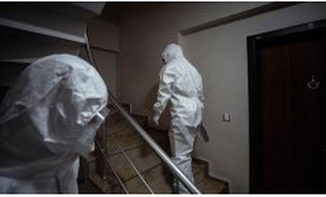 Koronavirüslü kişi  elektrik kesintisini fırsat bilerek yurttan kaçtı