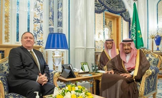 ABD Dışişleri Bakanı Pompeo Körfez'de
