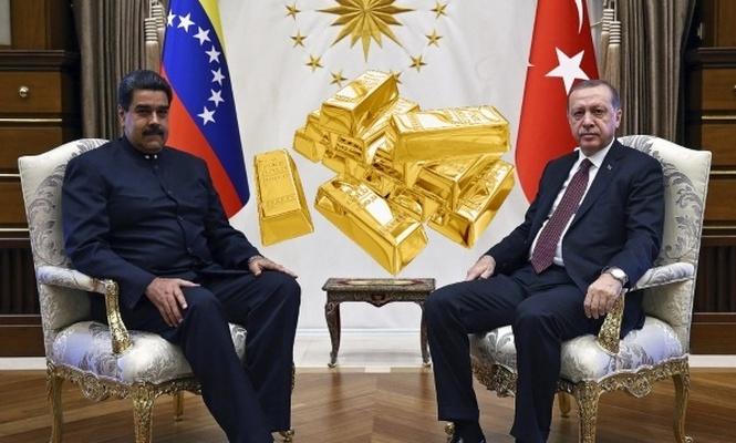 Venezüella, altınlarını Türkiye`ye gönderiyor!