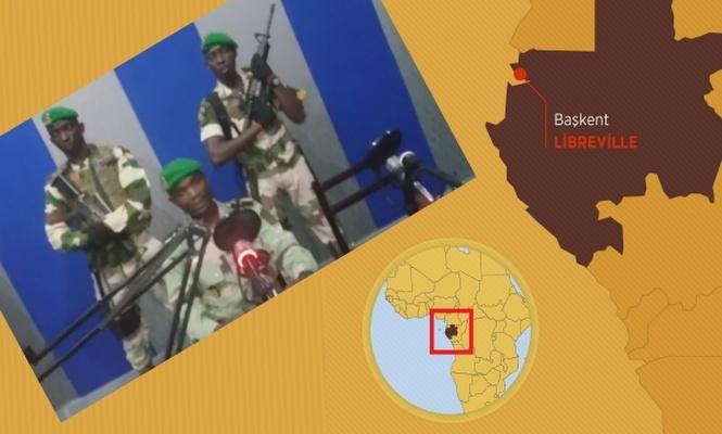 Gabon`da kısa ve tuhaf bir darbe girişimi