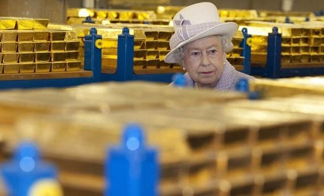 İngiltere, O ülkenin 930 milyon euro değerindeki altınlarına el koydu
