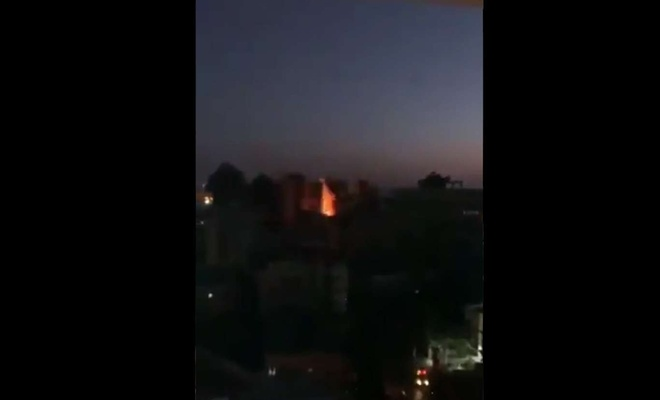 Hanadi Tower in Gaza reduced to rubble in zionist airstrike