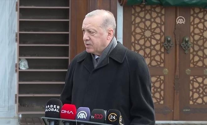 Erdoğan Kıbrıs'ta Kur'an Kurslarının yasaklanmasıyla ilgili konuştu