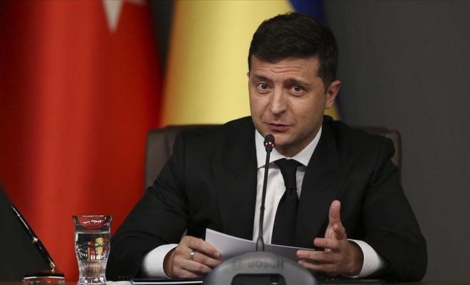 """Ukrayna Devlet Başkanı Zelenskiy'den """"geçmiş olsun"""" mesajı"""
