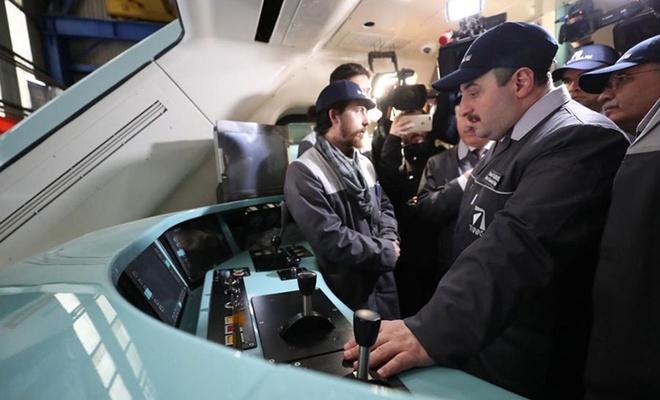 Bakan Varank: Milli elektrikli tren 29 Mayıs'ta test edilmeye başlanacak