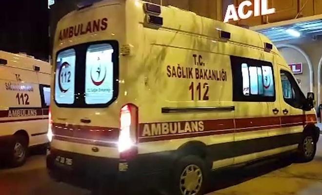 Nevşehir'de yolcu otobüsü devrildi