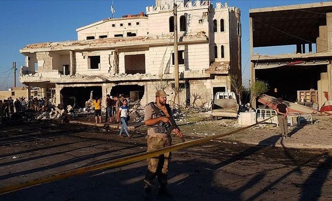 Azez'de YPG/PKK saldırısı: 4 sivil öldü, 20 sivil yaralandı