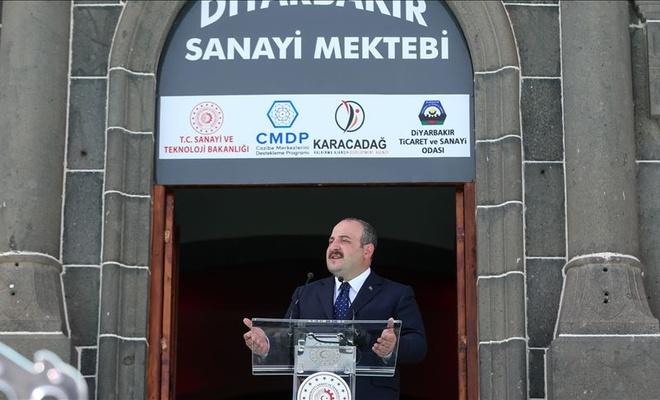 Sanayi ve Teknoloji Bakanı Varank: Diyarbakır her projemizle kapasitesini bir üst noktaya taşıyor