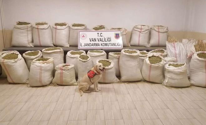 Van'da 732 kilogram uyuşturucu ele geçirildi