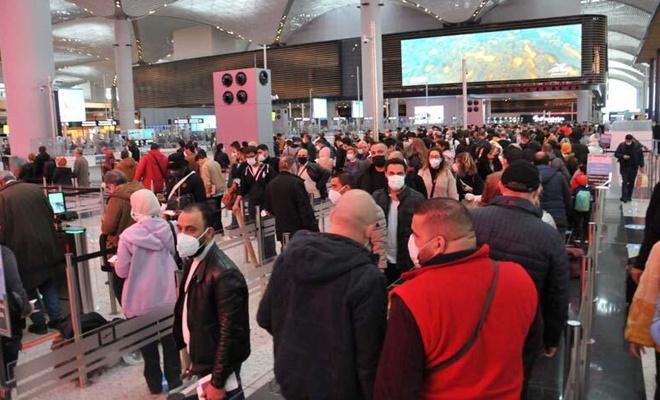 İstanbul Havalimanı'nda yoğunluk