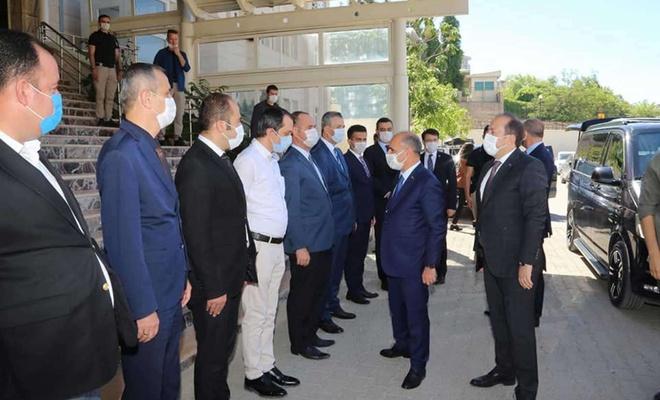 Emniyet Genel Müdürü Mehmet Aktaş Şırnak'ta