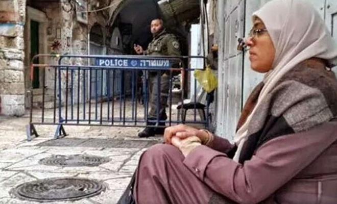 Mescid-i Aksa muhafızlarından Hatice Huveys'i siyonist işgal rejimince alıkonuldu
