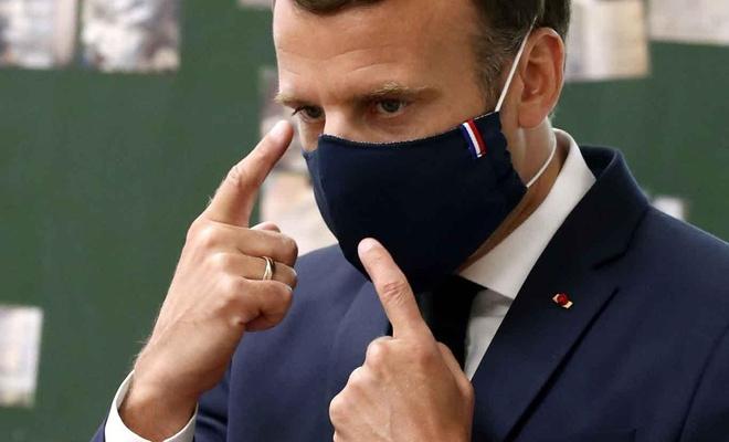 Fransa'da Coronavirus'le mücadele kapsamında ülke çapında maske zorunluluğu başlıyor