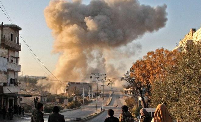 Esed rejimi İdlib'e saldırdı: Ölü ve yaralılar var