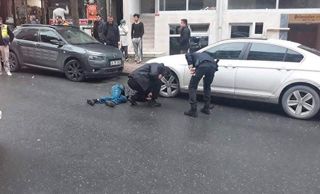 İstanbul'd asokak ortasında cinayet