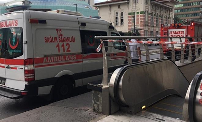 İstanbul'da metro yoluna kendini atan şahıs hayatını kaybetti