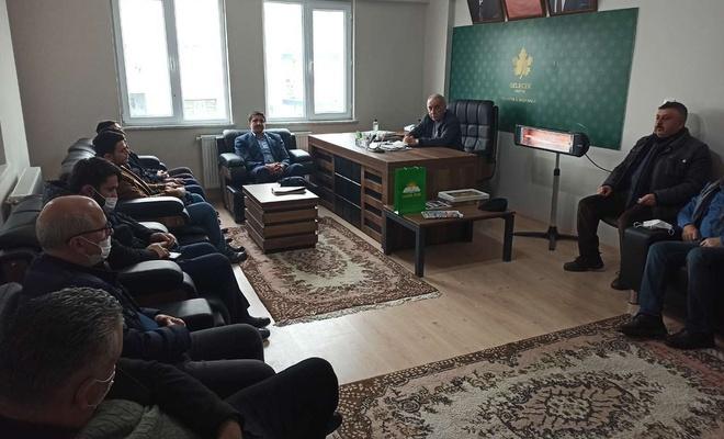 HÜDA PAR Malatya İl Başkanlığı siyasi parti ve esnaf odalarını ziyaret etti