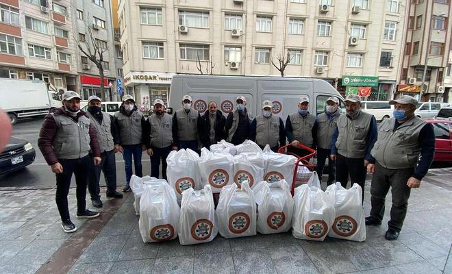 Kudüs Gönüllüleri İstanbul'da yardım faaliyetlerini sürdürüyor
