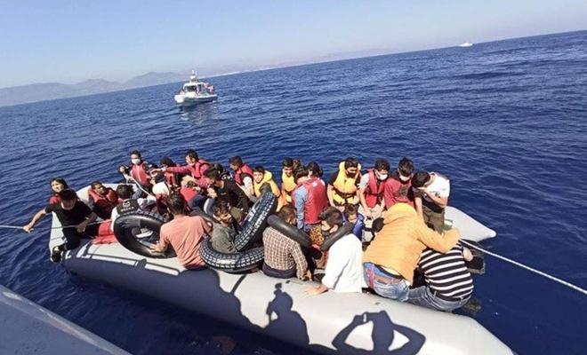 Bu yıl 112 binden fazla düzensiz göçmen yakalandı