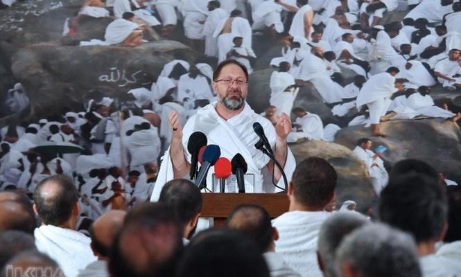 Erbaş`tan Arafat`ta Vakfe Duası