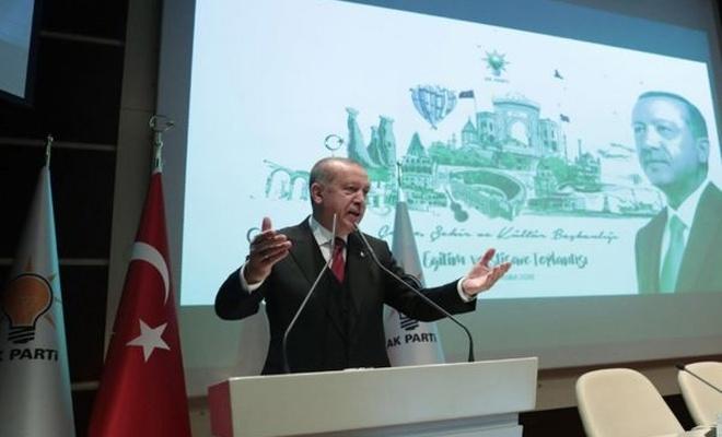 Erdoğan: Şehirlerimize yeterince sahip çıkamadık