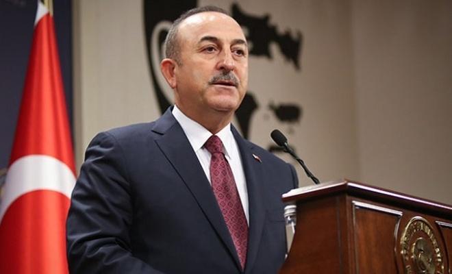 """Bakan Çavuşoğlu: """"Başkentinde cami olmayan tek ülke  bu konuda söz söylemeye hakkı yok."""" dedi"""