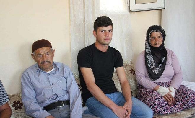 Darp edilen aileden saldırganların serbest bırakılmasına tepki