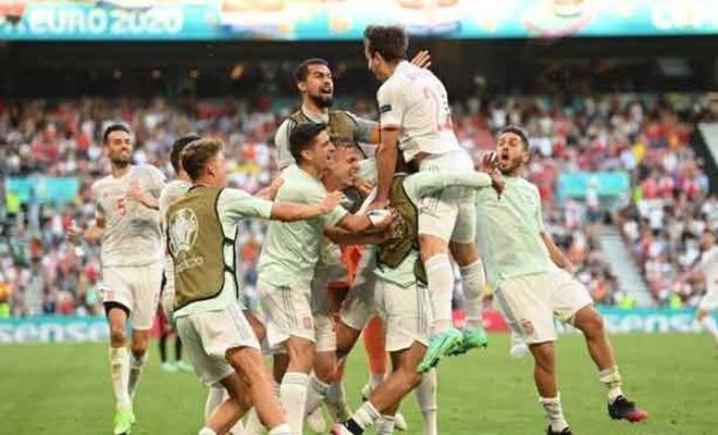 İspanya-Hırvatistan maçında heyecan doruk yaptı