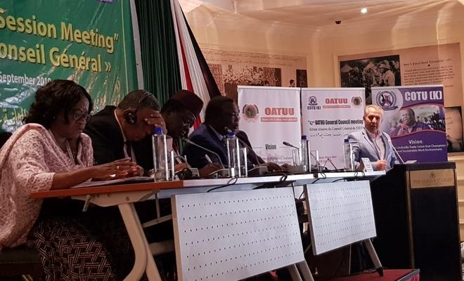 Memur-Sen Afrikalı sendikacıların toplantısında